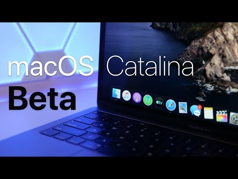 macOS Catalina Beta 1 - What's New?