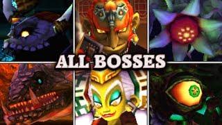 Video Zelda: Ocarina of Time 3D - All Bosses & Ending (No Damage) MP3, 3GP, MP4, WEBM, AVI, FLV Juni 2019