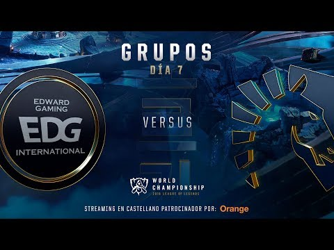 EDWARD GAMING VS TEAM LIQUID | WORLDS GRUPOS | DÍA 6 | LEAGUE OF LEGENDS WORLDS (2018)
