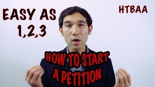 How to start a petition - Starting a petition can seem like a pointless task but they are incredibly useful and powerful. We recommend using change.org or the US government has their own petition site too. Here are some LINKS to some great and easy to use petition sites:https://www.change.org/http://www.thepetitionsite.com/https://petitions.whitehouse.gov/https://petiport.secure.europarl.europa.eu/petitions/en/mainAlso, for more empowering tips and and information, like our Facebook page at: https://www.facebook.com/becomeanactivist/