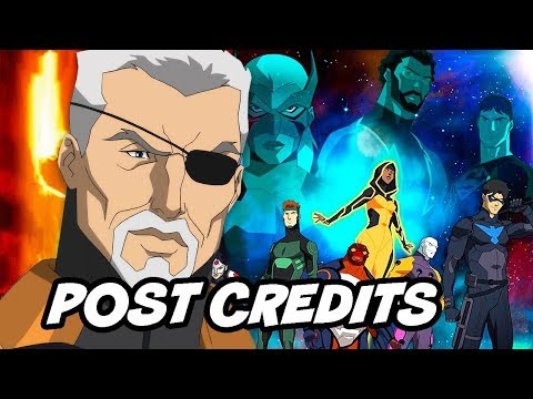Young Justice Season 3 Ending and Post Credit Scene Easter Eggs Breakdown