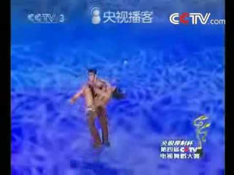 Чемпионы по бальным танцам (Китай, румба, импровизация)
