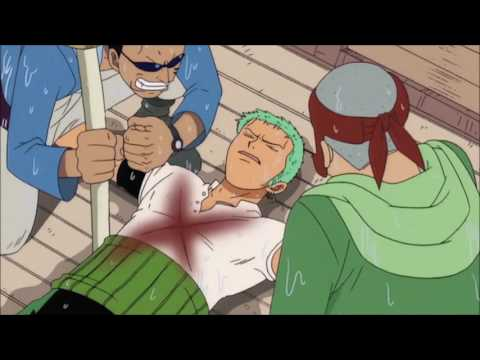 zoro promises luffy to be world's greatest swordsman epic moment(eng subbed)