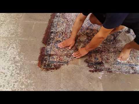 Lavaggio tappeto a mano, Questo Tizio è Un GENIO! Tabriz carpet ud