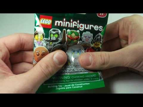 Lego Minifigures Series 11 Gingerbread Man Review HD
