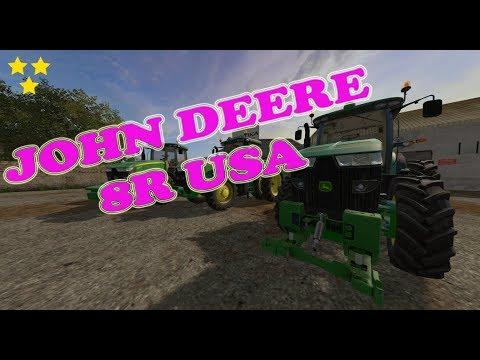 JOHN DEERE 8R USA v3.0.0.1