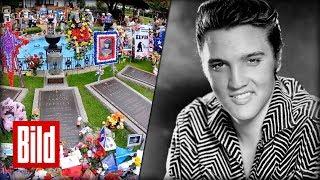 Heute vor 40 Jahren starb Elvis Presley. Doch mit seiner Musik ist der King of Rock'n' Roll in den Herzen seiner Fans unsterblich. BILD jetzt abonnieren: ...