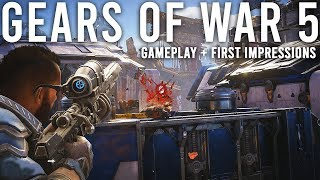 Gears 5 Gameplay + First Impressions