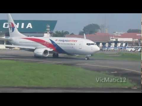 Take Off At Polonia Airport Medan - Indonesia