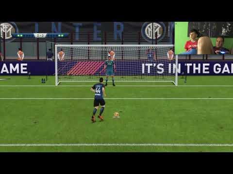 FIFA 18 ITA CALCI DI RIGORI Inter vs Juve Fifa 2018 Gameplay PS4