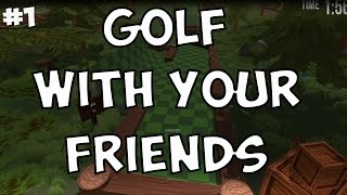 Golf With Your Friends! w/ PokeaimMD, Pony, Scoot, shofu & Snark [Ep 1] by PokeaimMD