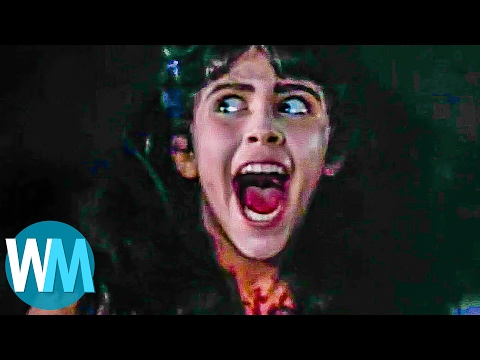 Top 10 Best Horror Movie Endings of ALL TIME! (видео)