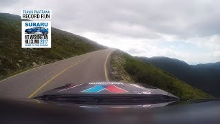 Travis Pastrana crushed the Mt. Washington Hillclimb record reaching the 6288' summit in a stunning 5:44.72. The #199 WRX STI with a specially fitted 600hp ...