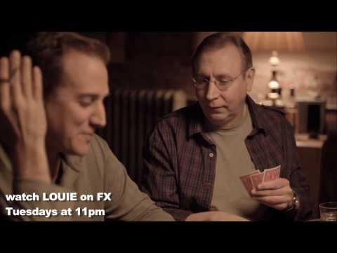 Louis CK Poker scene from episode 2 of LOUIE on FX every TUESDAY at 11pm