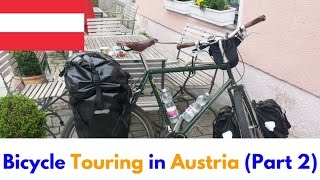 This is part 2 of my bicycle touring videos taken in Austria from my 2016 cycle ride across Europe. Actually, it starts in Bratislava in this video, but I'm sure you don't mind! Please check out the other videos and playlists on my channel!