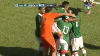 Copa São Paulo 2015 Palmeiras 1 x 0 Vitória - Gol de Gabriel Jesus.