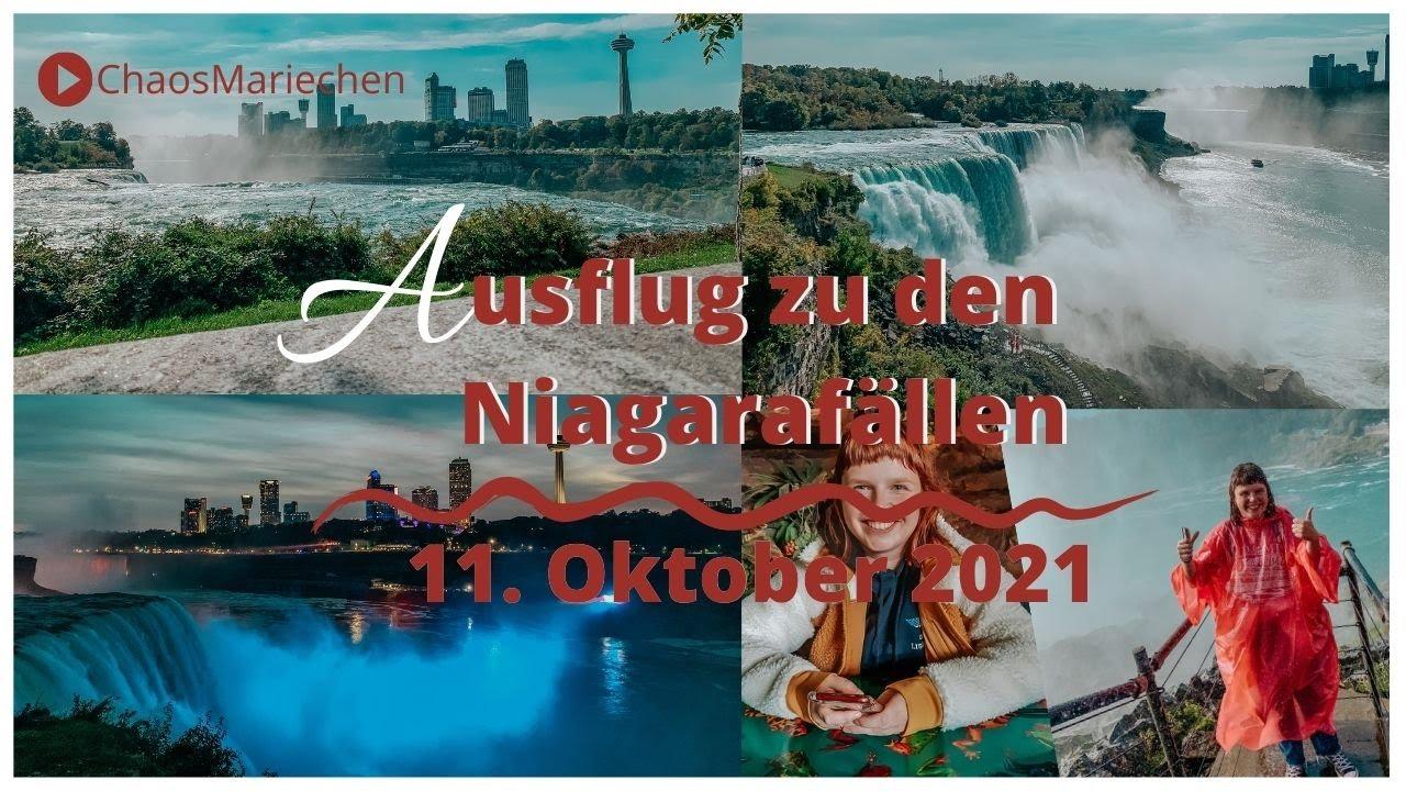 Ausflug zu den Niagarafällen - AmerikaVlog | ChaosMariechen