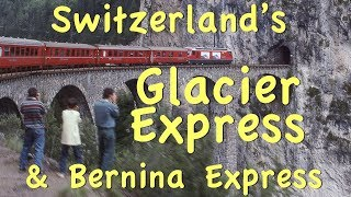 Subscribe now: http://bit.ly/2pmdyeu Switzerland playlist http://bit.ly/2qsUism We are riding along on the Glacier Express from one ...