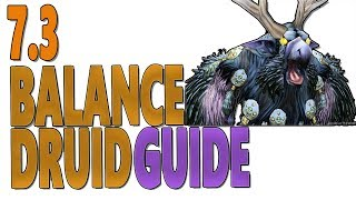 Patch 7.2.5 beginners PVE DPS guide for Balance (boomkin) Druid for raid & 5-man content in Tomb of Sargeras. Covers (Talents...