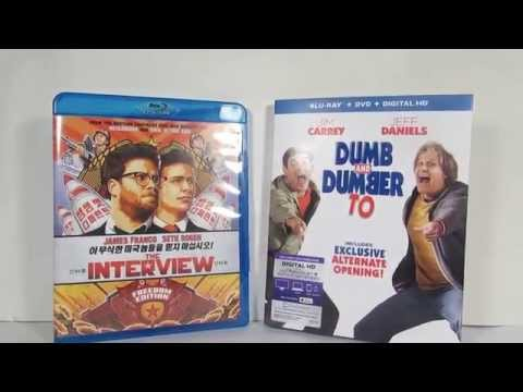Blu ray Dumb and Bumber to and The Interview reviews