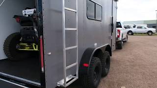 4. The Ultimate UTV/Toy Hauler Off Road Trailer - We load a RZR XP 1000 with 32 inch tires!
