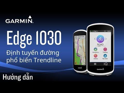 Định tuyến đường phổ biến Trendlin