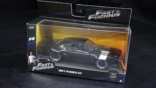 Nonton Dom's Plymouth GTX - F8 Fate of the Furious - Jada Toys Fast & Furious - 1:32 Model Toy Car Unboxing Film Subtitle Indonesia Streaming Movie Download