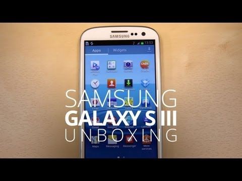 SIII - Samsung Galaxy S III Unboxing! By June's end, Samsung's Galaxy S III will be everywhere — Verizon, T-Mobile, Sprint, AT&T and U.S. Cellular. Without a doubt,...