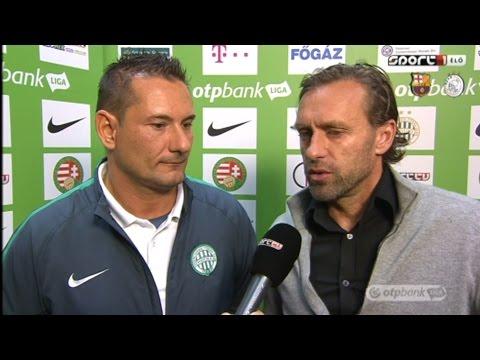 Edzői értékelés a Ferencvárosi TC - PMFC 2-0