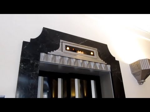 Tour of the Roanoke Higher Education Center (N&W Railway Building) with Historic Otis Elevators