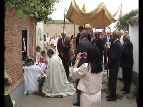 Festividad del Corpus Christi en Gallegos del Pan