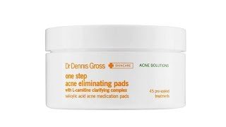 Dr. Dennis Gross One Step Acne Eliminating Pads