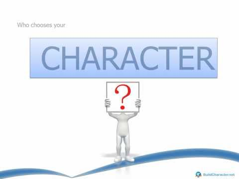character - Character Educators from BuildCharacter.net would like to share this educational presentational video on What is Character. Content from this video is from o...