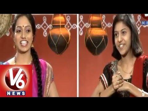 Singer Madhu Priya With Teenmaar Racha Ramulamma