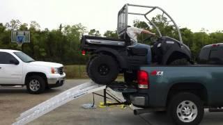9. Unloading Kawasaki mule