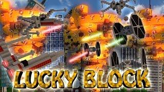 Minecraft | LUCKY BLOCK TORNADO PVP CHALLENGE - Tornadoes vs Lucky Blocks! (Tornado Mod)