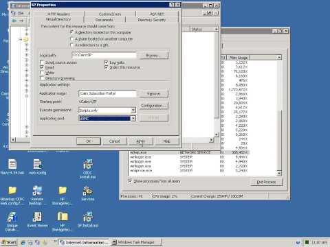 Session 1 Install and Configure IIS on Windows 2003 IIS 6.0