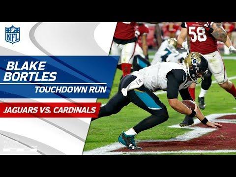 Video: Amazing Runs by Blake Bortles Lead Jags on TD Drive! | Jaguars vs. Cardinals | NFL Wk 12 Highlights