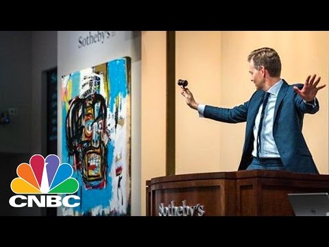 Basquiat Painting Sells For $110.5 M Signaling Uptick For Art Market | Squawk Box | CNBC
