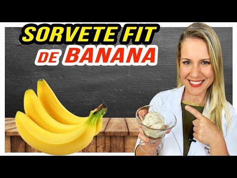 Nutricionista - Receita de Sorvete de Banana Fit [FÁCIL, SAUDÁVEL e DELICIOSO]