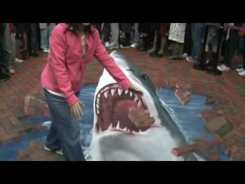 interactive street art