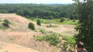 10. 2014 Can Am Maverick 1000 XXC in the gravel pit