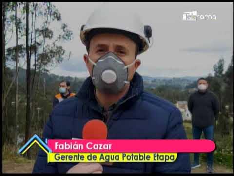 Realizan trabajos en planta de potabilización de Tixán
