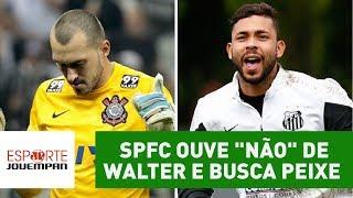 O São Paulo, que consultou e teve uma oferta recusada pelo Corinthians para o goleiro Walter, gosta de Vladimir, do Santos.