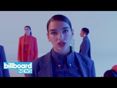 Dua Lipa Drops Intense 'IDGAF' Video | Billboard News | Billboard News (видео)