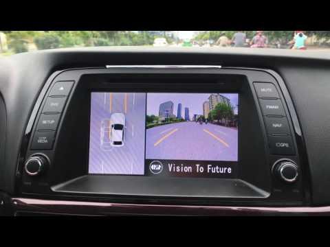 Camera 360 độ Oris cho xe mazda 6 2015