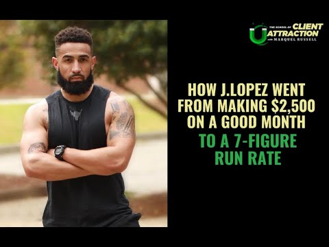 [S.O.C.A. Ep 16] How J  Lopez Went From Making $2,500 On A GOOD Month To A 7 Figure Run Rate