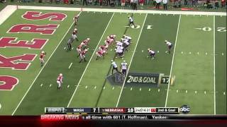 Chris Polk vs Nebraska 2011