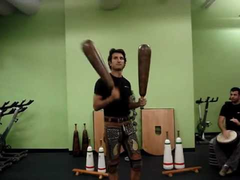 meel - This is a demo of Meel (Club) exercises, with some variations. these exercises are part of the Zurkhaneh (House of Power) training system. To the uninitiated...