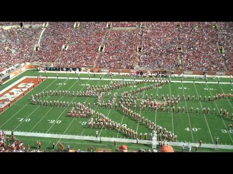 The University of Texas Longhorn Band November 10, 2012; UT vs Iowa State
